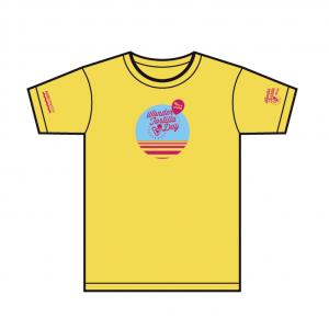T-shirt Wonder Tortilla Gialla